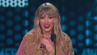 Taylor Swift wins the Artist of the Decade Award  I  AMAs 2019