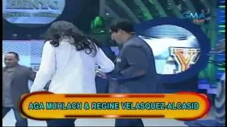 PINOY HENYO - Regine Velasquez and Aga Muhlach
