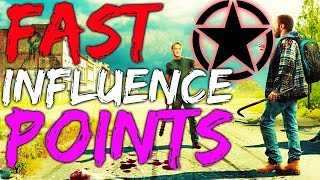 STATE OF DECAY 2 HOW TO GET INFLUENCE POINTS FAST - Get Money Fast Guide