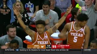 Texas vs Texas Tech Men's Basketball Highlights