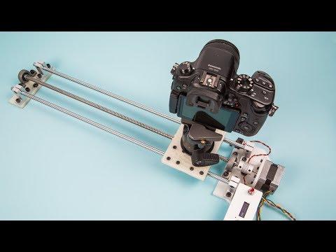 Make Live: Motion Control Camera Slider