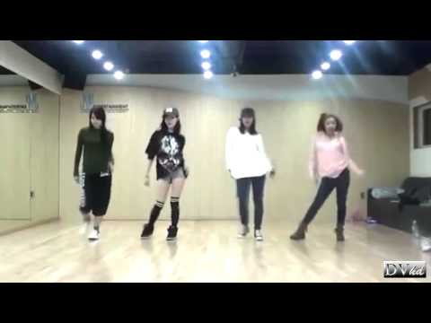 Miss A - I Don't Need A Man (dance practice) DVhd