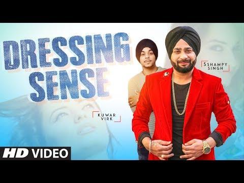 DRESSING SENSE LYRICS - Kuwar Virk   Sshampy Singh