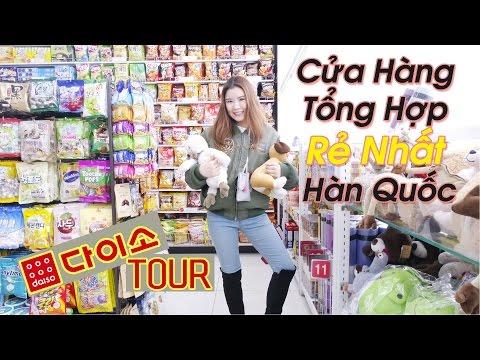 Cửa Hàng Tổng Hợp Rẻ Nhất Hàn Quốc-DAISO TOUR!