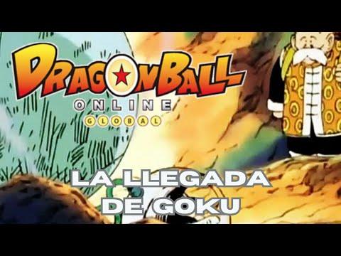 Asistimos a la llegada de Goku | Dragon Ball Online #3