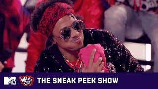 Justina Valentine's Modeling Dreams Make Nick Spit 💦 on Wild 'N Out | The Sneak Peek Show | MTV