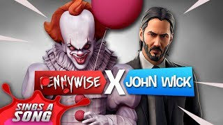 Pennywise + John Wick Fortnite Song