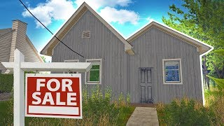 House Flipper - Buying Our First Home! - House Flipper Beta Gameplay