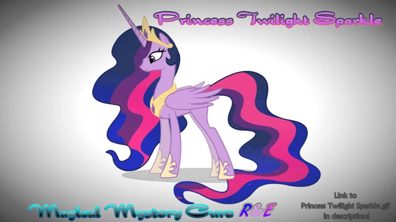 Princess Twilight Sparkle Magical Mystery Cure R Amp E I