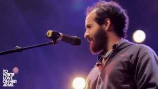 Anis Mojgani performs Shake the Dust at HEAVY AND LIGHT.