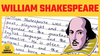 William Shakespeare Essay For Students In English   The William Shakespeare Biography In 250 Words