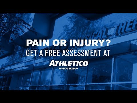 """Don't just """"tough it out"""" when it comes to pain or injuries. Follow these three steps to begin the recovery process with a free assessment at Athletico Addison, TX. We are conveniently located in a strip mall near the Tom Thumb Grocery Store."""
