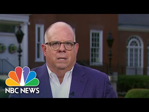 Maryland Gov. Hogan Calls On Trump To Accept Election Results | NBC News NOW