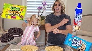 ULTIMATE PIZZA CHALLENGE!!! (MAKING REAL CANDY AND OREO PIZZA!)