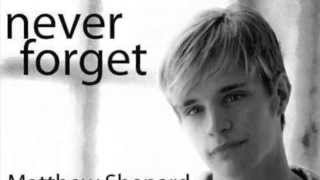 Not In My Town - The Story of Matthew Shepard