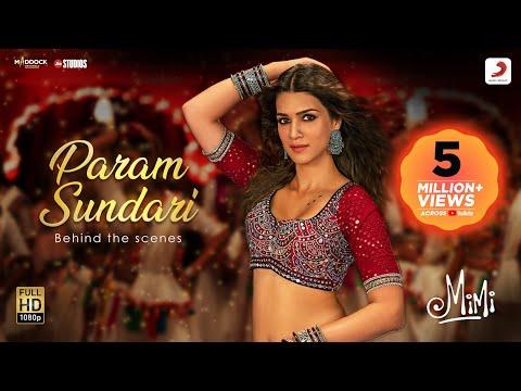 Mimi: Making of Param Sundari song with Kriti Sanon, Pankaj Tripathi