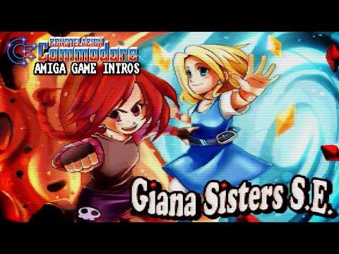 Amiga CD32 Game Intro: The Great Giana Sisters (Tsak/Earok,Rainbow Arts, 2016)