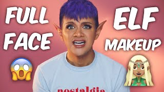 FULL Face Using ELF Cosmetics Makeup | Gabriel Zamora