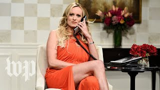 SNL's Stormy Daniels cold open, annotated