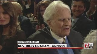 Rev. Billy Graham turns 99