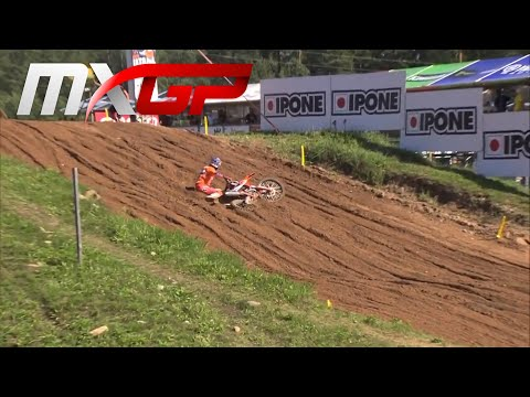 Herlings crash - MXGP Time Practice - MXGP of Latvia 2020