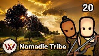Disasterous Disastaro! Nomadic Tribe #20 - Rimworld 1.0 Merciless No Mods Let's Play Gameplay