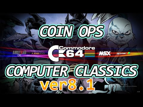 CoinOPS Computer Classics Version 8.1    Novedades
