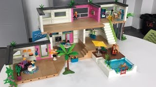 Playmobil 5586 city life studio des invit s comparer for Maison moderne 5574