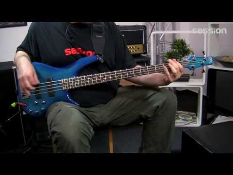 Ibanez SR370E Electric Bass Guitar (Saphire Blue)