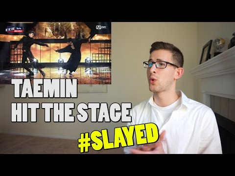 [Hit The Stage] Taemin - Waking up the Devils inside Reaction