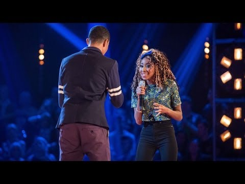 Iesher Haughton Vs Femi Santiago: Battle Performance - The Voice UK 2014 - BBC One