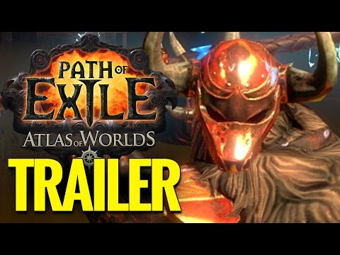 Path Of Exile - Atlas Of Worlds Official Reveal Trailer