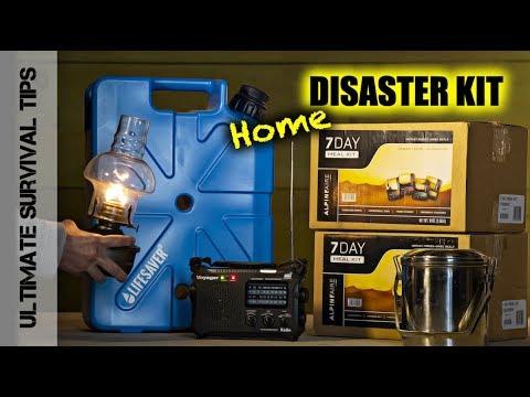 DIY - BUILD Your Home Disaster / Survival Kit :  Best Emergency / Survival Gear - PART 1
