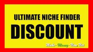 Repeat youtube video Ultimate Niche Finder DISCOUNT | Huge Discount of 50% on UNF