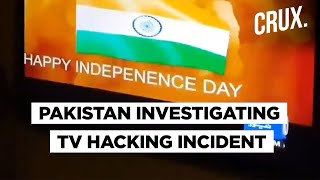 Pakistan News Channel Hacked, Indian Tricolour Shown On Screen | Dawn News
