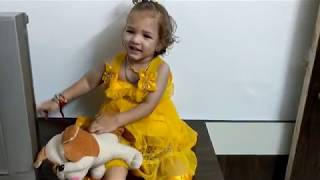 Khush Baby Boy Dressing like a Baby Girl | Cute Little Funny Kid