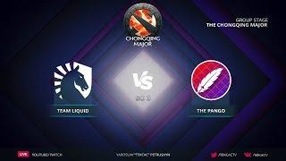 [RU] Team Liquid vs The Pango   Bo3   The Chongqing Major by @Tekcac