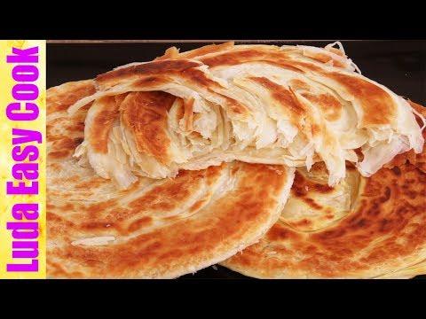 КАТЛАМА самая слоеная и вкусная лепешка на сковороде
