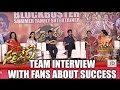 Sarrainodu team interview with fans about success..