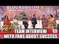 Sarrainodu team interview with fans about success