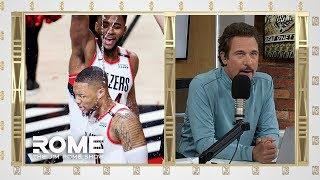 Damian Lillard Talks About Game Winning Shot! | The Jim Rome Show