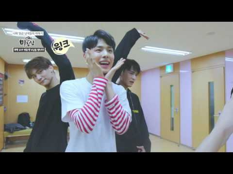 apink visits their brother group VICTON (Plan A entertainment) 7men rough eng sub