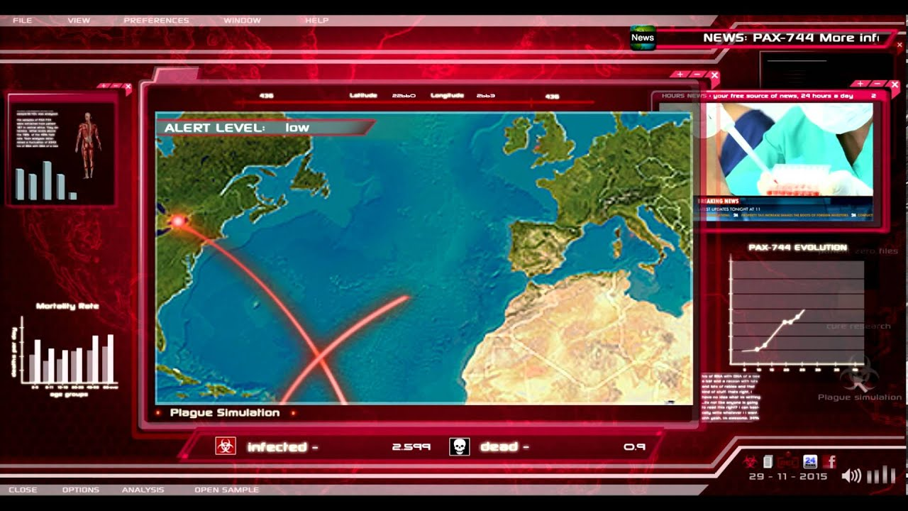 Play Plague Inc on PC 2