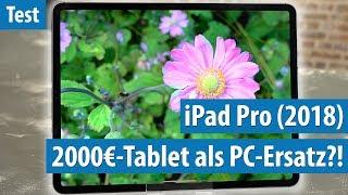 iPad Pro (2018): Damit will Apple den PC abschaffen! | Test / Review