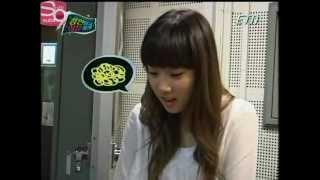 [Eng Subs] Xandu Reality Show Ep 1 - Taeyeon cut [08.06.08].avi