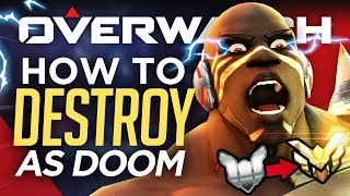 Top 5 Doomfist Tips to Rank Up FAST! (Overwatch Advanced Guide)