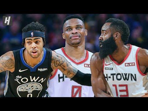 Houston Rockets vs Golden State Warriors - Full Game Highlights | December 25 | 2019-20 NBA Season