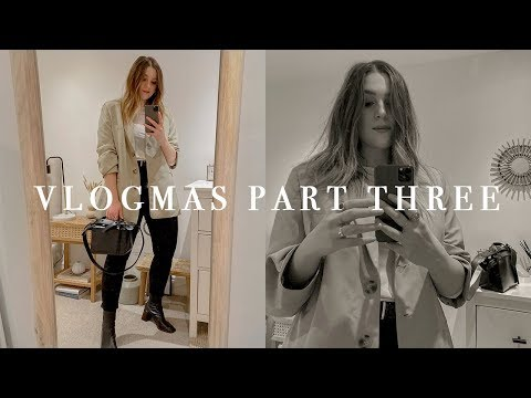FRIDAY NIGHT OUTFIT + NEW BAG | VLOGMAS PART THREE | I Covet Thee