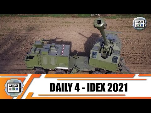 IDEX 2021 Day 4 International Land Defense Exhibition Official Online Show Daily News and Web TV