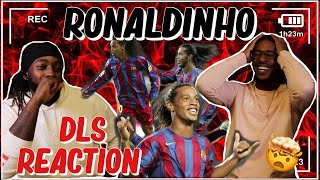 Americans First Reaction to Ronaldinho   DLS Edition